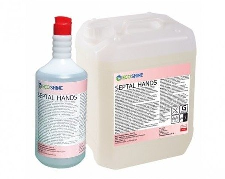 Bezalkoholowy płyn do dezynfekcji rąk 1L ECO SHINE Septal Hands
