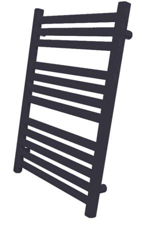 Grzejnik łazienkowy Kumiko 950x530 czarny
