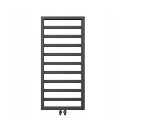 Grzejnik łazienkowy Natsumi 980x530 czarny