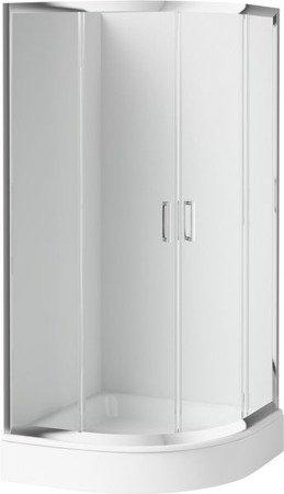 Kabina półokrągła DEANTE Funkia 80x185cm
