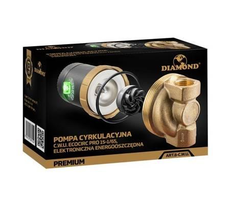Pompa cyrkulacyjna C.W.U. elektroniczna energooszczędna premium
