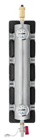 Sprzęgło hydrauliczne z rozdzielaczem 60kW ocieplone DN25 1'' SR2-2