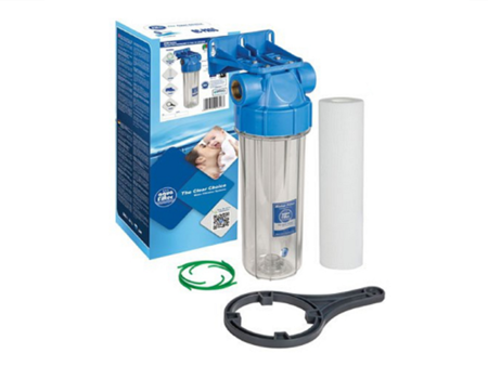 Zestaw filtr obudowa korpus do wody narurowy 3/4''